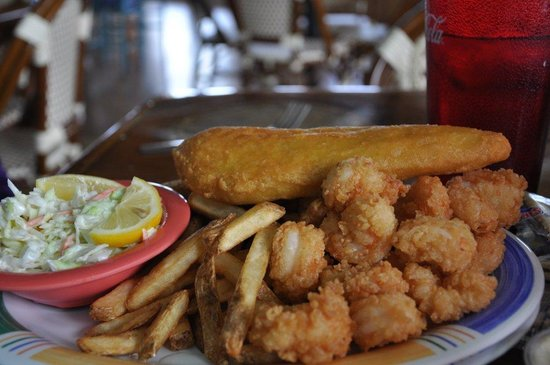 Inlet View Bar and Grill: Fried shrimp