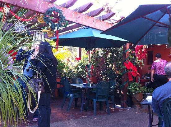 Cafe Nouveau: On the patio.