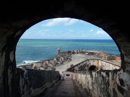 Site historique national de San Juan : El Morro tunnel