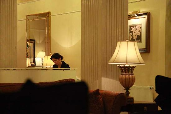 Opera Hotel: Piano  Player in  Lobby