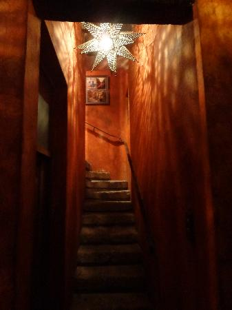 Posada Del Angel: Staircase to the rooftop terrace