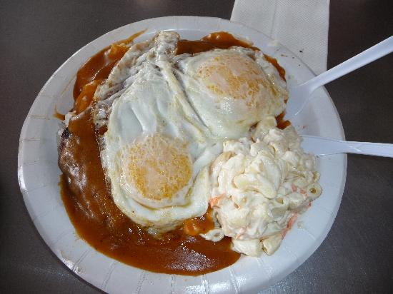 Loco Moco A Bit Overrated Picture Of Rainbow Drive In Oahu Tripadvisor