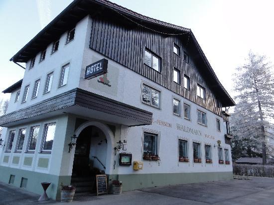 Hotel Waldmann: Frente do Hotel