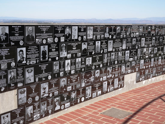 La Jolla, Kalifornien: Memorial Wall