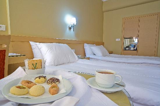 SV Business Hotel Diyarbakir : twin bed