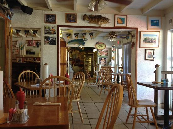 Fish Tales Market & Eatery: inside restaurant part