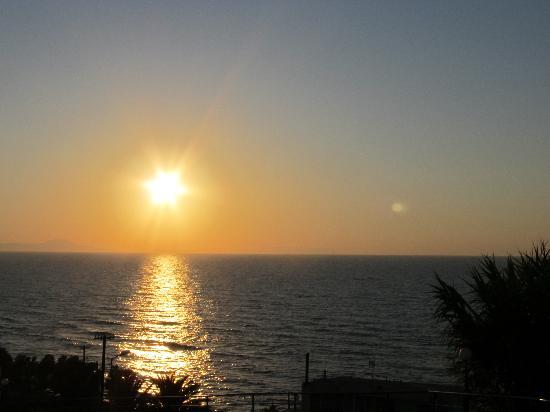 Scaleta Beach Hotel: Vue sur la mer