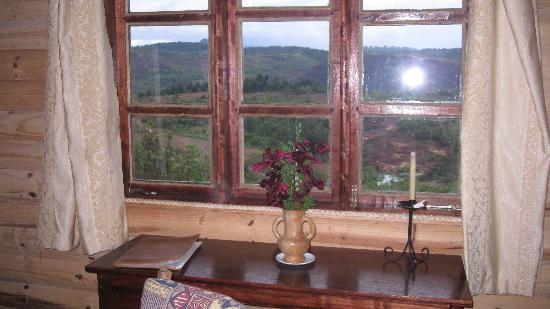 Mufindi Highland Fishing Lodge: View from cabin