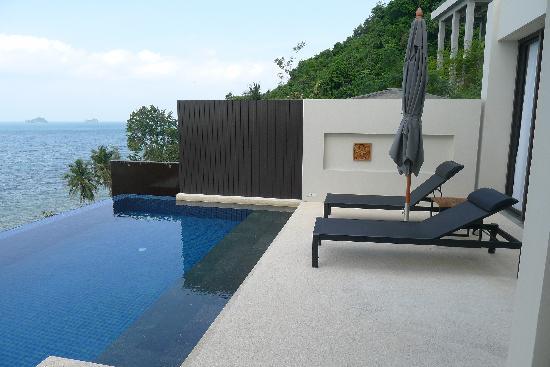 Conrad Koh Samui: Outside the villa