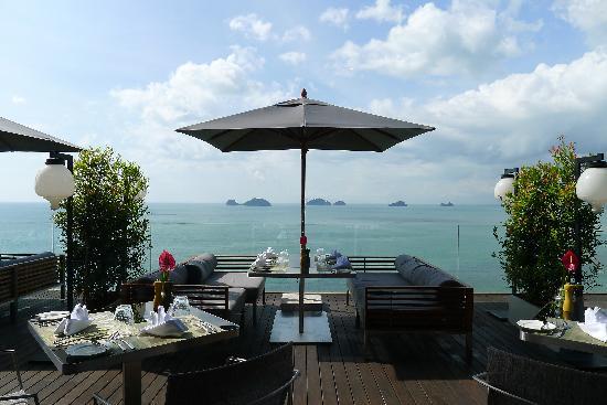 Conrad Koh Samui: From the Zest restaurant
