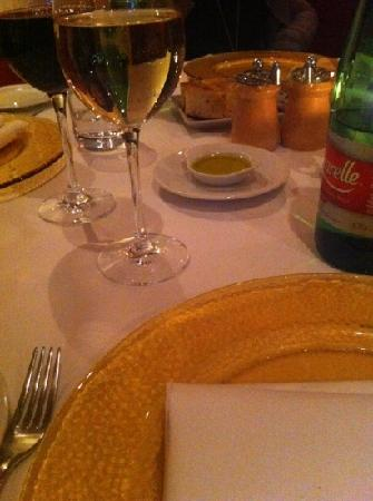 Il Convivio: la tavola