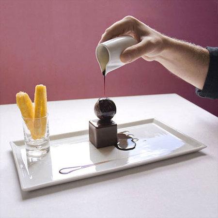Hostellerie de la Pomarède : Exemple de dessert