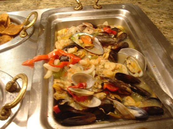 Carnival World & Seafood Buffet : fruits de mer