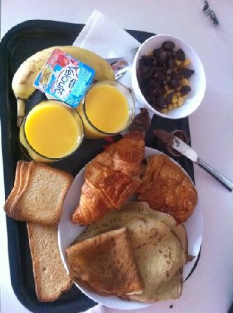 Olivarius Apart'hotel Cergy : super petit déjeuner un des meilleurs