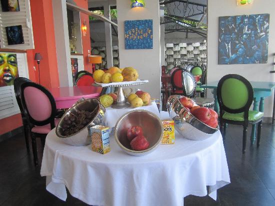 La Suite Villa : Buffet Petit-déj