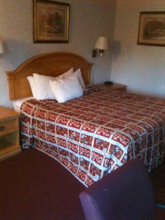 Red Roof Inn Yorktown : Bed