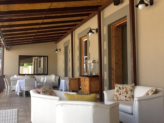 Su Casa @ Surval : terrace outside