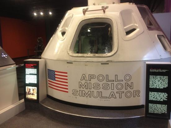 Science Museum Oklahoma: real Apollo mission simulator