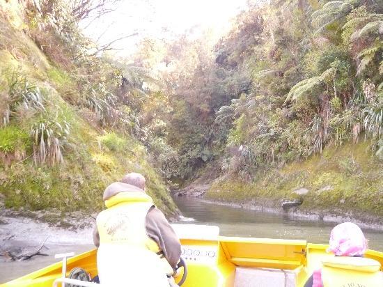 Puente de la nada: naviguation