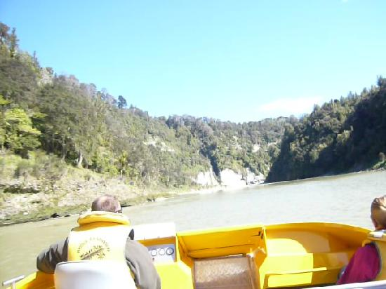 Bridge to Nowhere: jet boat