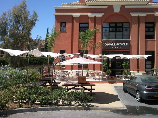 SmallWorld Cafe : Small World Cafe Marbella