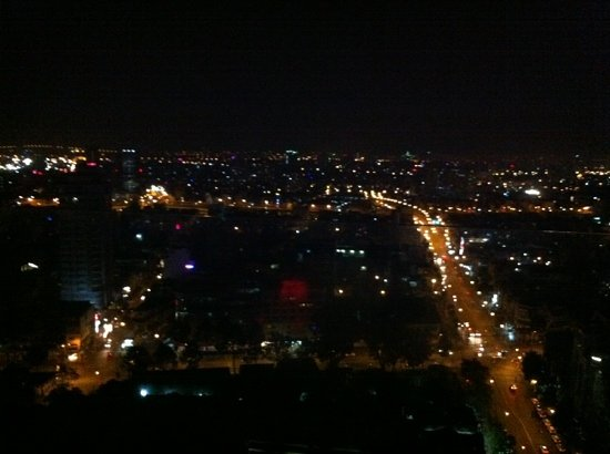 Chill Skybar: view from the skybar