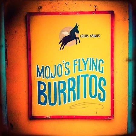 Mojo's Flying Burritos: simple and really good Mexican food!