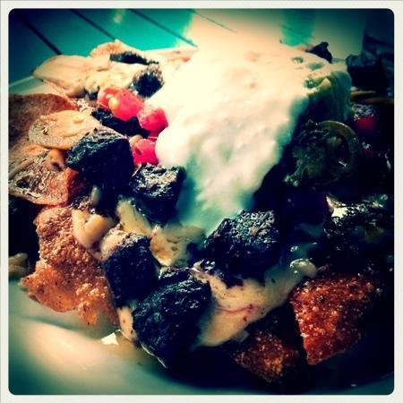 Mojo's Flying Burritos: enchiladas