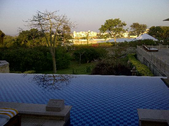 The Oberoi Udaivilas: View from the Room!