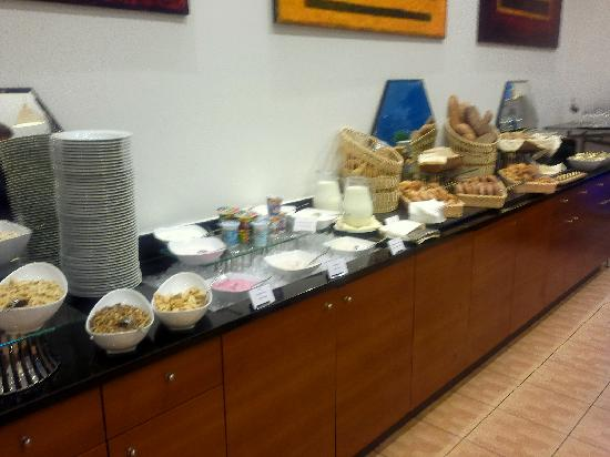 InterContinental Hotel Warsaw: Buffet breakfast (part)