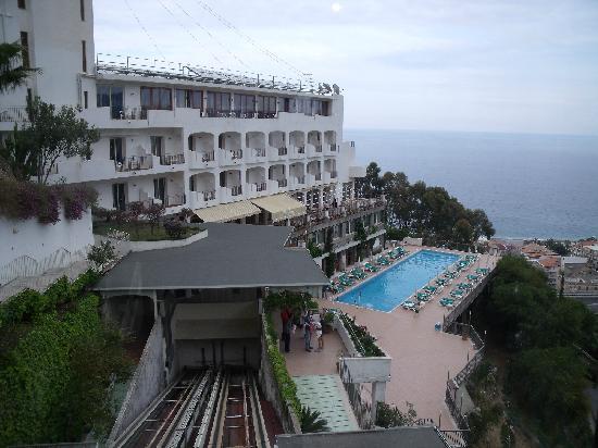 Hotel Antares: panorama ascensore esterno