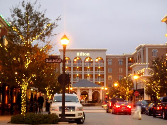 Hilton Dallas/Southlake Town Square: Hotel from shopping