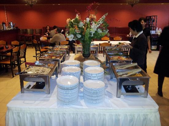 pictures of buffet table 2