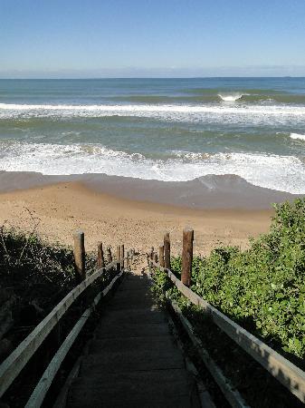 Imvubu Lodge: Beautiful beach access for guests