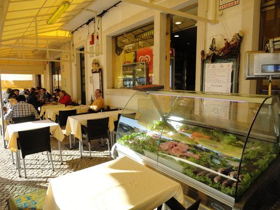Restaurante O Horta: Terraza