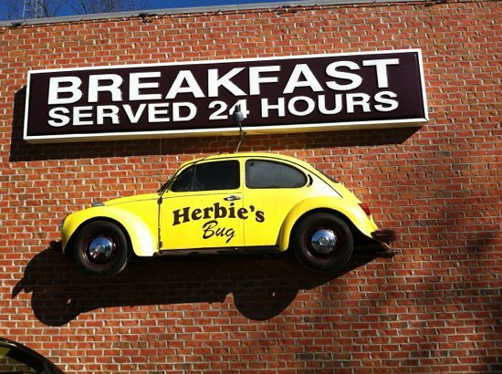 Herbie's Place: quick service, average diner, reasonable price