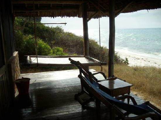 Lazy Lagoon: Our veranda - my favorite spot