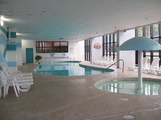 Indoor Pool Hot In There Picture Of Grande Shores Ocean Resort Myrtle Beach Tripadvisor