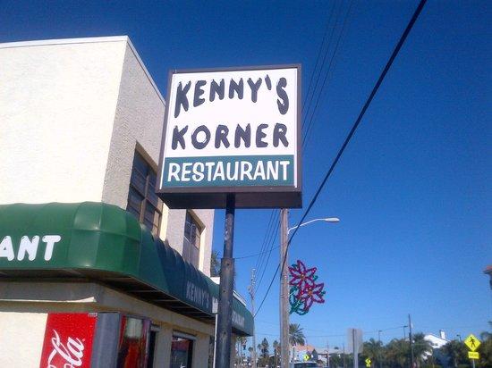 Kenny's Korner Inn: Kenny Korner sign