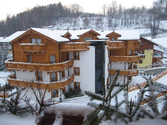 Szczyrk, Polska: Widok na drugi budynek Hotelu