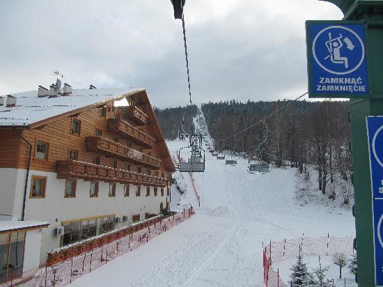 Resultat d'imatges de hotel meta beskidi mountains poland