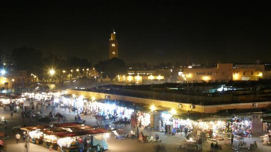 Marrákes, Marokkó: Piazza Jāmiʿ el-Fnā
