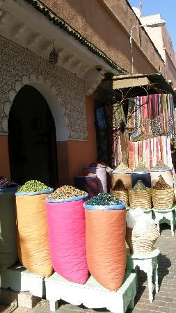 Marrákes, Marokkó: Spezie