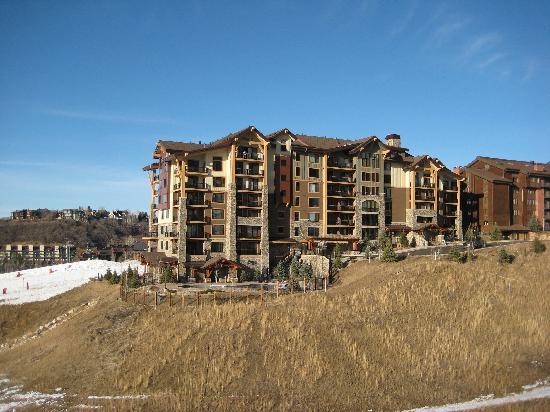 Edgemont Condominiums: Edgemont from gondola (south side)