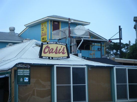 World Famous Oasis Restaurant Saint Augustine Beach