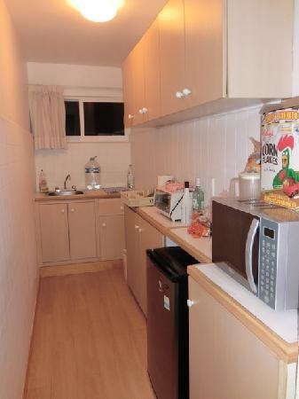 Suites Petit Polanco: Small kitchen (room 6)