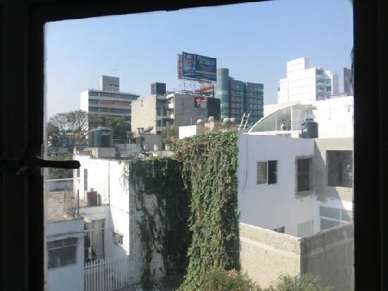 Suites Petit Polanco: View from living room (room 6)