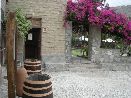 Refugio de Santiago Ecolodge: entrada al refugio