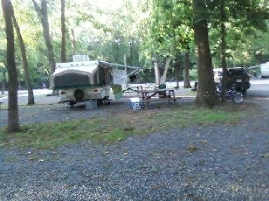 Gettysburg Campground : Rv sites