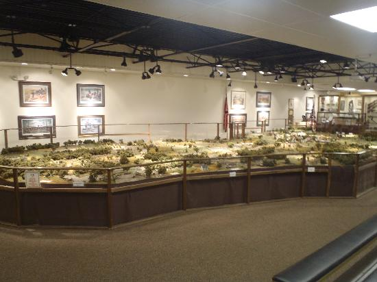 Gettysburg Diorama: Diorama